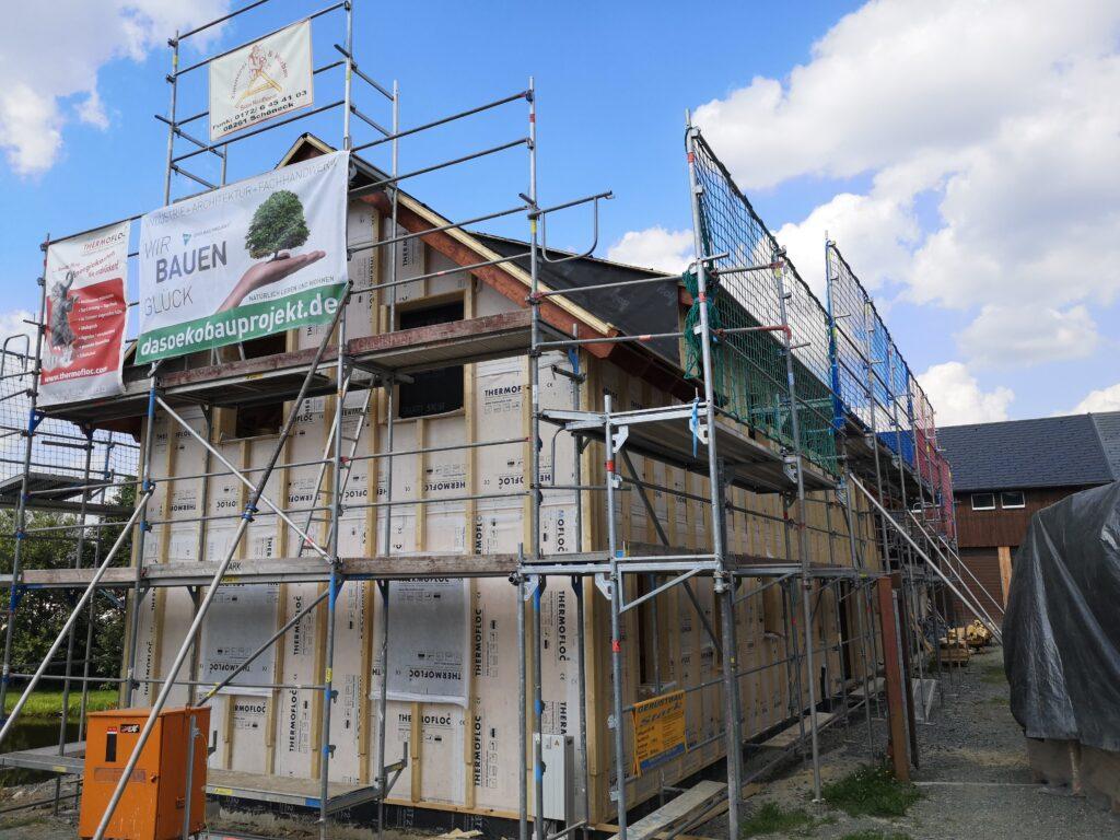 Das Öko Bau Projekt - Bauinfotag